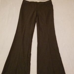 Theory Pants - Theory Max C Praise Gray Pinstripe Pants Trousers